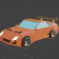 Descargar archivo 3D gratis Coche de carreras 3D, cebriian95