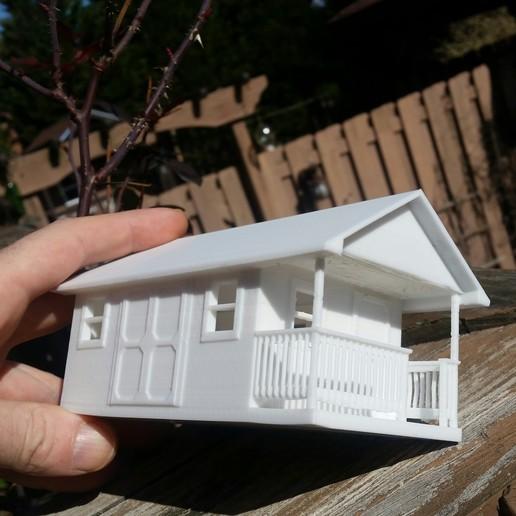 Download free STL file Garden Shed • 3D printable template, HundredAcreWeeds
