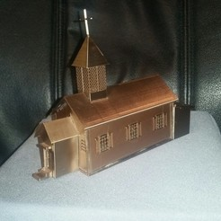 Download free STL file palomino creek church • 3D printer design, HundredAcreWeeds
