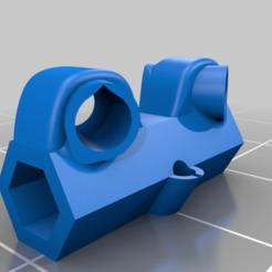 Download free STL file X2 Eyas antenna holder • 3D print object, HundredAcreWeeds