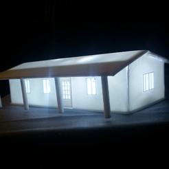 Download free STL file simple house 1 • 3D printer template, HundredAcreWeeds