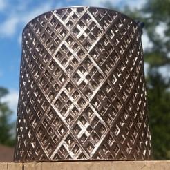 Download STL file Plaid Stranger Cup • 3D printable design, HundredAcreWeeds