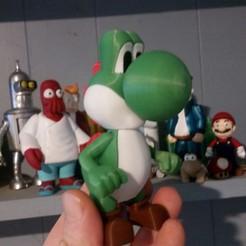 Télécharger fichier 3D gratuit Yoshi à partir de Mario jeux - Multi-couleur, HundredAcreWeeds