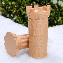 lt1.png Télécharger fichier STL gratuit Casse-tête de la tour du labyrinthe • Modèle pour imprimante 3D, FluffyPantsStudio