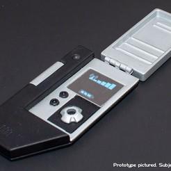 Imprimir en 3D gratis Comunicador inspirado en la empresa Star Trek, FluffyPantsStudio