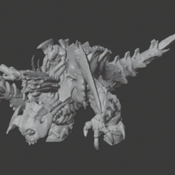 Download free 3D printer designs Epic Tyranid Dominatrix, mewiththeface