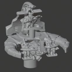 COMMAND_BARGE.PNG Download free STL file Epic Catacomb Command Barge • Object to 3D print, mewiththeface