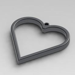 Descargar archivo 3D Colgante de corazón - Regalo para el día de San Valentín, WellTaut