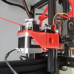 Download free STL file BullsEye-EZR DD for ENder3 • 3D printable model, claytonbakerjr