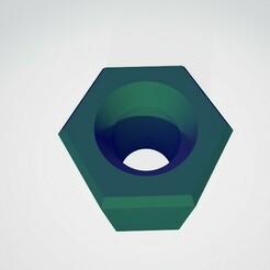 adapterPic1.jpg Télécharger fichier STL gratuit Adaptateur d'équilibreur 17 mm Camion RC • Design pour impression 3D, claytonbakerjr