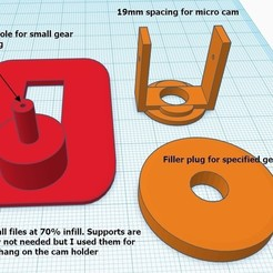 Download free STL file AlbaBird FPV Camera Pan mount • 3D printing template, claytonbakerjr
