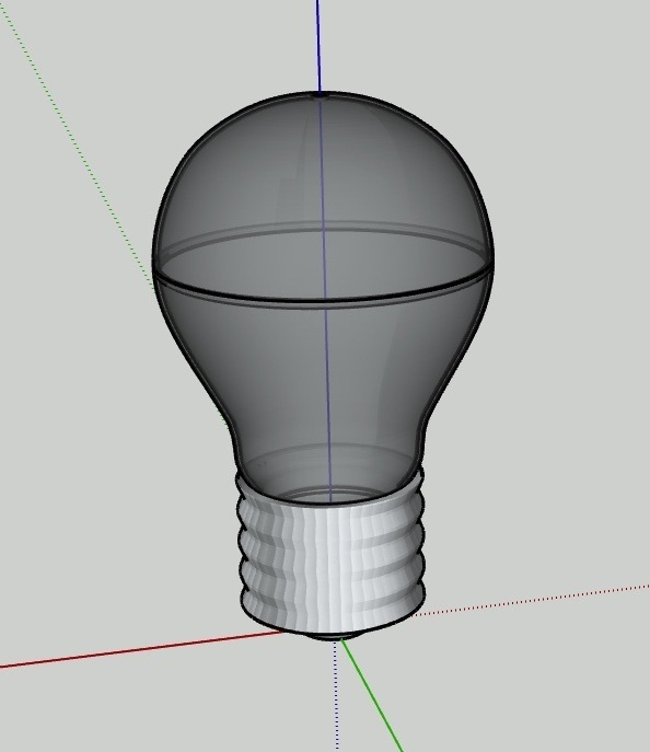 UNADJUSTEDNONRAW_thumb_4.jpg Download free STL file Light_Bulb Lamp V3.1 • 3D printable object, Pipapelaa