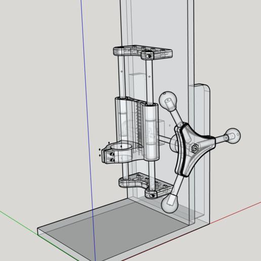PRESSDRIL_1.png Download free STL file COLUMN DRILL • Design to 3D print, Pipapelaa