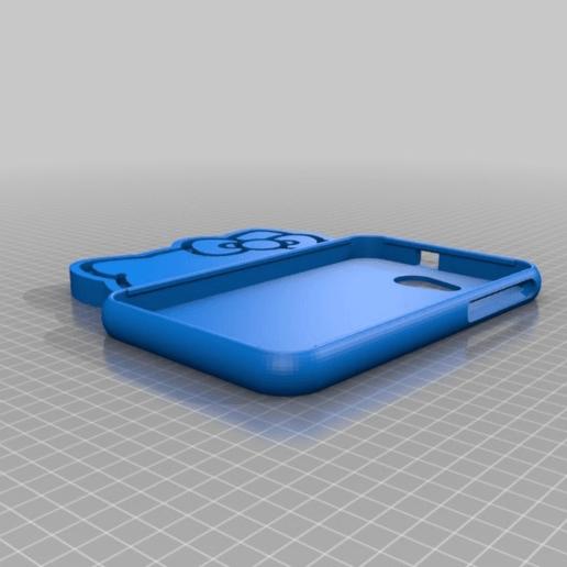 Download free 3D printer designs Samsung T110 Kitty, Pipapelaa