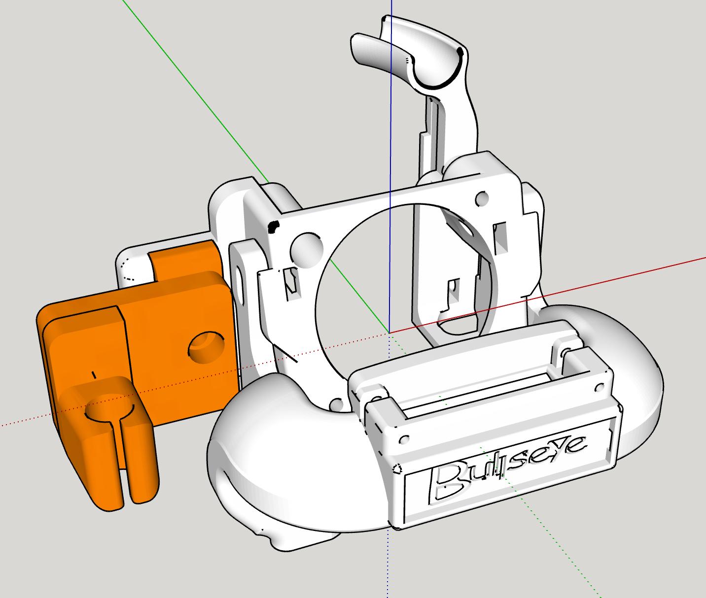 Micrometro.png Download free STL file Petsfang Micrometer Adapter • 3D print model, Pipapelaa