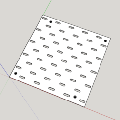 Download free STL file SKADIS PEGBOARD EXTENSION • 3D printing template, Pipapelaa