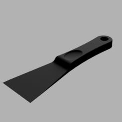 Schaber_render.png Télécharger fichier GCODE gratuit Grattoir de lit d'impression avancé • Design à imprimer en 3D, ohrenstoepsel