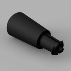 Télécharger plan imprimante 3D gatuit Salatschleuder Drehknopf / bouton tournant d'essoreuse à salade, ohrenstoepsel
