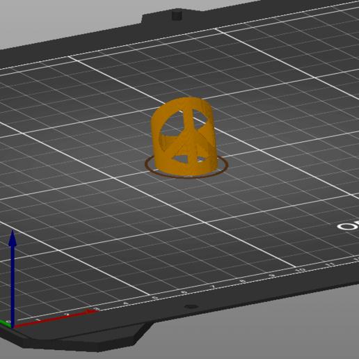 PeaceRingSliced.png Télécharger fichier 3MF gratuit Anneau de paix, en gras • Objet à imprimer en 3D, ohrenstoepsel