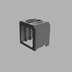 Download free 3D printing files MK3 / MK3S / MMU2S small Extruder Cooler (Dual-fan version), ohrenstoepsel