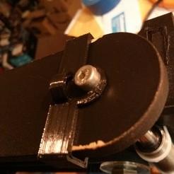IMG_20140807_231311.jpg Télécharger fichier STL gratuit Support pour film plastique pour QUBD OneUp/TwoUp • Plan imprimable en 3D, loclhst