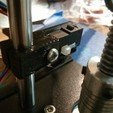 Download free 3D printer designs Simple Z-Axis Endstop holder, loclhst