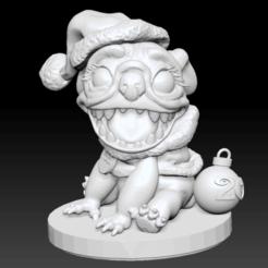 Download free 3D printer files Yodi 2019 Xmas Ornament, EpicAdventureMinis