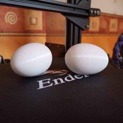 Descargar archivo STL gratis Huevo • Diseño para imprimir en 3D, Victorien