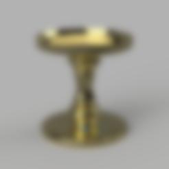 0-Rod.stl Download free STL file Bath and Body Works - Candle Holder (10cm Ø) • 3D print design, crisonescu