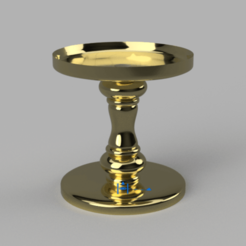 CandleHolder_v4.png Download free STL file Bath and Body Works - Candle Holder (10cm Ø) • 3D print design, crisonescu