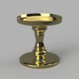 CandleHolder_v4.png Download free STL file Bath and Body Works - Candle Holder (10cm Ø) • 3D print design, crisonescu