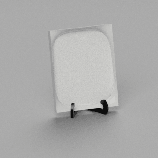 Picture_Frame_Stand_v22.png Download free STL file Picture Frame Stand / Holder • 3D print template, crisonescu