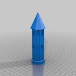 Download free 3D printer templates Tower, crisonescu