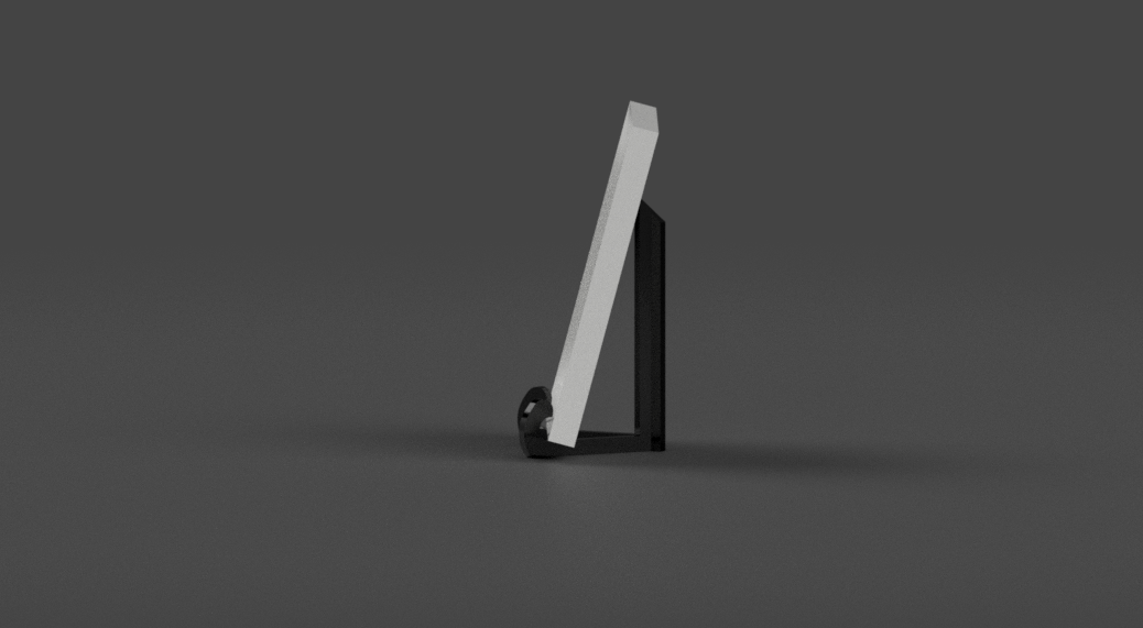 Picture_Frame_Stand_v23.png Download free STL file Picture Frame Stand / Holder • 3D print template, crisonescu
