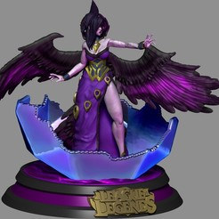 morgana 03.jpg Download STL file League of Legends -  Morgana Classic - Collectible • 3D printing object, josehenrique1500