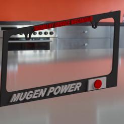 PHOTO.PNG Télécharger fichier STL Liscence plate frame • Design à imprimer en 3D, nico_r18fb2