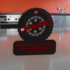 PHOTO.PNG Télécharger fichier STL Tremblay service mécanique porte clés • Plan pour impression 3D, nico_r18fb2