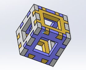 DOVETAIL.JPG Download free STL file Dovetail Cube for the printer testing • 3D printable template, vvvvvv