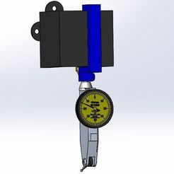 img.jpg Download free STL file Dial indicator holder for Ender 3 • 3D print design, vvvvvv