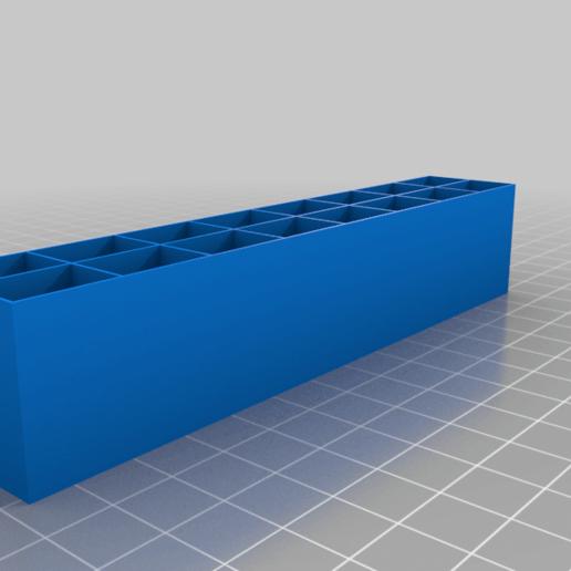 holder_small.png Télécharger fichier STL gratuit Boîtes pour petits et moyens transistors • Objet pour imprimante 3D, vvvvvv