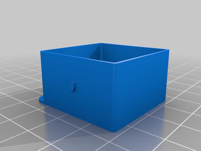 drawer_middle.png Télécharger fichier STL gratuit Boîtes pour petits et moyens transistors • Objet pour imprimante 3D, vvvvvv