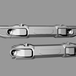 222222.jpg Télécharger fichier STL gratuit AXIAL SCX10 3 III FRONT BUMPER JEEP WRANGLER JL • Objet pour impression 3D, ilyakapitonov
