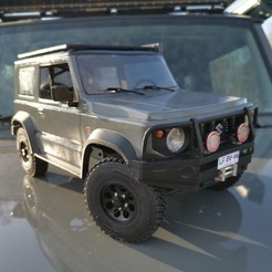 116906224_1160579557673967_4715455232875122154_n.jpg Descargar archivo STL Jimny Sierra Suzuki RC BODY MST CFX CMX 267mm scaler car • Modelo para la impresora 3D, ilyakapitonov