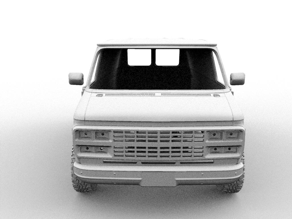 1.jpg Descargar archivo STL CHEVY VAN G20 RC BODY SCALER AXIAL MST TRX4 RC4WD • Modelo para imprimir en 3D, ilyakapitonov