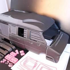 chevy-van-g20-hard-body-3d-printed-444.jpg Descargar archivo STL CHEVY VAN G20 RC BODY SCALER AXIAL MST TRX4 RC4WD • Modelo para imprimir en 3D, ilyakapitonov
