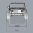 Descargar diseños 3D JEEP J6 RC BODY SCALER 313MM MST TRX4 AXIAL, ilyakapitonov