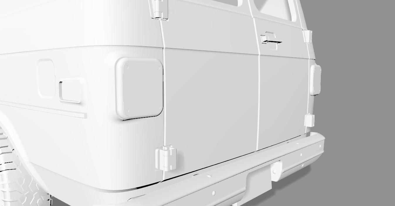 2020-04-05_18-57-03.png Descargar archivo STL CHEVY VAN G20 RC BODY SCALER AXIAL MST TRX4 RC4WD • Modelo para imprimir en 3D, ilyakapitonov