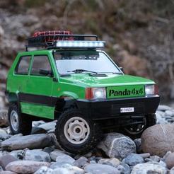 Impresiones 3D gratis 1.9 RUEDA BEADLOCK FIAT PANDA OLD RC CAR AXIAL TRX4 MST, ilyakapitonov