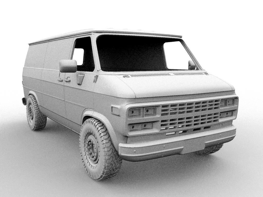 11.jpg Descargar archivo STL CHEVY VAN G20 RC BODY SCALER AXIAL MST TRX4 RC4WD • Modelo para imprimir en 3D, ilyakapitonov