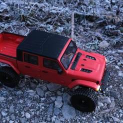 Descargar modelo 3D JEEP GLADIATOR RC HARD BODY SCALER 370MM MST TRX4 AXIAL, ilyakapitonov